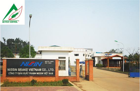 Công ty sản xuất phanh Nissin ViệtNam– Bình Xuyên – Vĩnh Phúc – VN