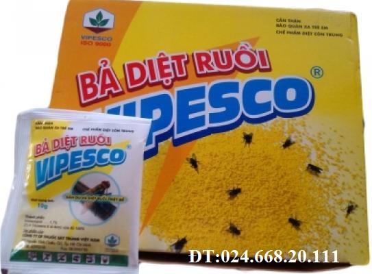 Bả diệt ruồi VIPESCO, diệt ruồi tận gốc, diệt ruồi siêu tốc