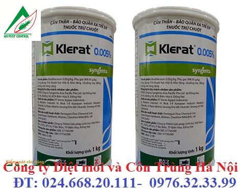 Sản phẩm thuốc diệt chuột Klerat